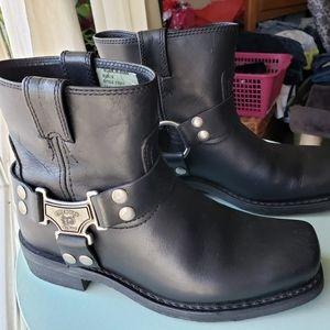 Eddie Moran Leather Boots